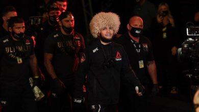 Photo of Хабиб Нурмагомедов впервые в карьере поднялся на первое место в общем рейтинге UFC