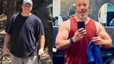 Photo of Кетодиета и кроссфит помогли американцу похудеть больше чем на 90 кг