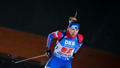 Photo of Женская сборная РФ по биатлону занимает пятое место в зачете Кубка наций