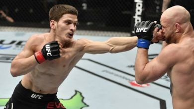 Photo of Достучаться до небес. Непобежденный россиянин Евлоев покорит UFC?