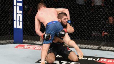 Photo of UFC назвал лучшие сабмишены года. Там Хабиб!