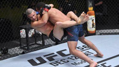 Photo of «Выглядит мерзко»: дебютант UFC сокрушил соперника и утешил его жену