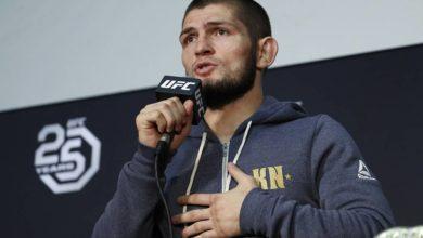 Photo of UFC признал «треугольник» Нурмагомедова в бою с Гэтжи лучшим болевым приемом года