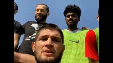 Photo of Нурмагомедов сыграл с футболистами «Спартака» на сборе в ОАЭ