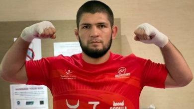 Photo of Хабиб назвал свой вес на данный момент