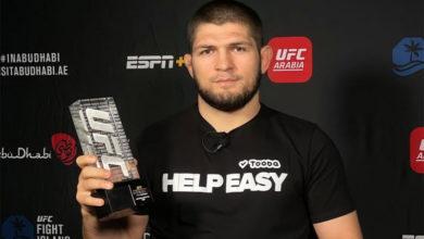 Photo of Хабиб Нурмагомедов стал автором «Сабмишна года» в UFC