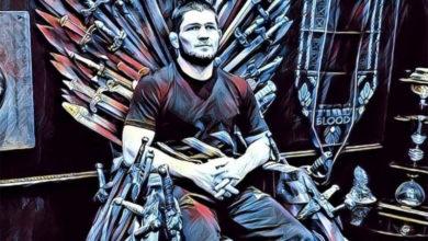 Photo of Хабиб занял Железный трон «Игры престолов»