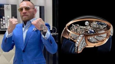 Photo of Конор МакГрегор купил уникальные часы за один миллион долларов