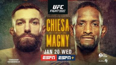 Photo of Прямая трансляция UFC on ESPN 20: Кьеса vs Мэгни, Нурмагомедов vs Морозов
