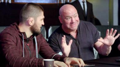 Photo of Раскрыты детали разговора между Хабибом и Дана Уайтом