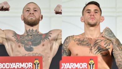 Photo of Результаты взвешивания к турниру UFC 257: МакГрегор и Порье сделали вес