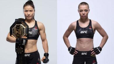 Photo of Бой Вейли Чжан и Роуз Намаюнас состоится на UFC 261
