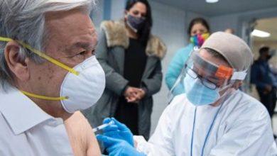 Photo of Генсек ООН сделал прививку от коронавируса