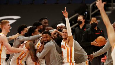 Photo of «Атланта» одержала восьмую подряд победу в НБА, обыграв «Лейкерс»