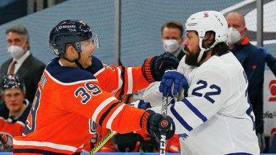 Photo of Шайба Михеева помогла «Торонто» победить «Эдмонтон» в матче НХЛ