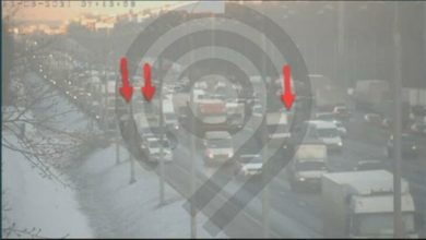 Photo of На МКАД столкнулись три автомобиля