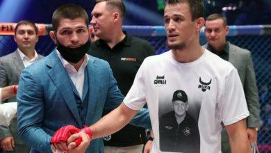 Photo of Усман Нурмагомедов посвятил победу в Bellator умершему дяде