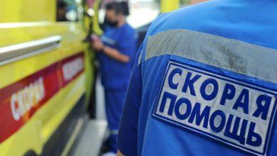 Photo of В Москве водитель фуры врезался в подземный переход
