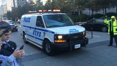Photo of В Нью-Йорке автобус столкнулся с опорой железнодорожных путей, есть раненые