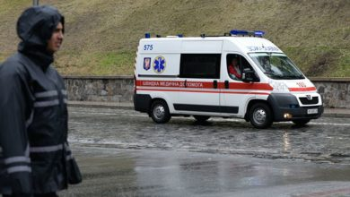 Photo of Автобус с участниками крестного хода в Киеве попал в ДТП