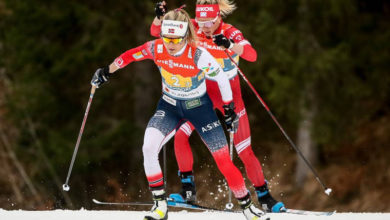 Photo of Тренер: лыжница Сорина сможет потренироваться с Йохауг только за пределами Норвегии